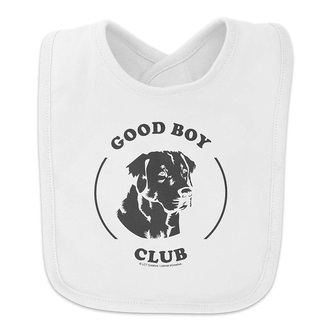 Good Boy Club Dog Funny Humor Baby Bib