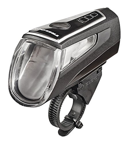 Trelock Unisex– Erwachsene LED-Batt-Leuchte-2022100501 LED-Batt-Leuchte, Schwarz, One Size