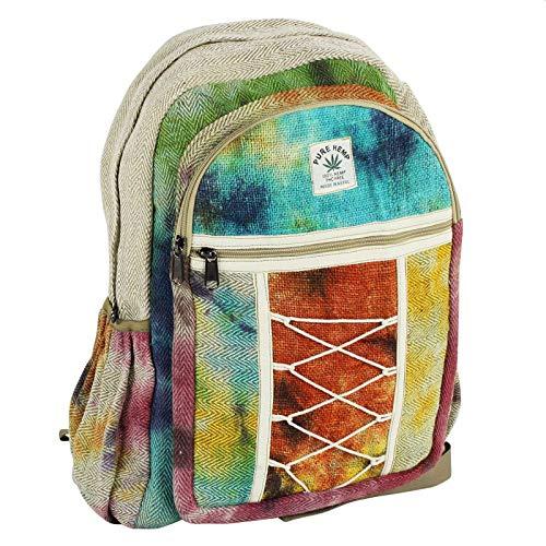 Freak Scene Backpack - Hemp - Pattern 04 - Bag - Ethno - Batik