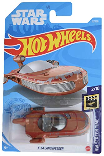 DieCast Hotwheels Star Wars [X 34 Landspeeder] 12/250, Screen Time 2/10