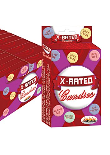 X Rated Candies 1.6 oz box for Valentine's or Any Day