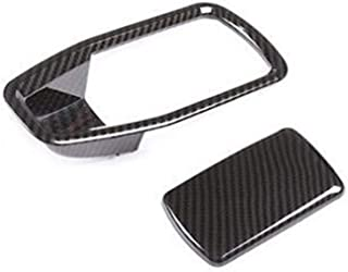 loulou Chrome Carbon Style Fit för BMW 3 Serie G20 G28 19-2020-21 Bilhandske Box Co-Drive Storage Switch Knapp Klistermärk...