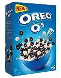 Oreo O's Cereal 350 g, Oreo Cerealien mit Kakao- und Vanillegeschmack, Oreo Cereal als Frühstück oder Snack zwischendurch, enthält Vitamine und Eisen