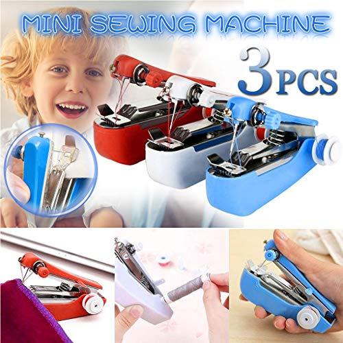 Buy Bargain Sayhi Sewing Machines Mini Portable,Hand Sewing Machine,Hand-held Electric Sewing Machin...