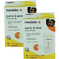 Medela Pump & Save Breastmilk Bags - (Set of 2) by Medela