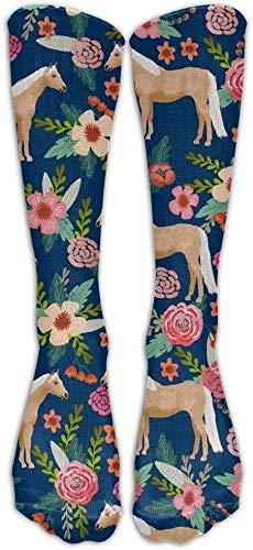 JAONGSADY hoogwaardig, elastisch, duurzaam, flexibel, unisex, uniek design Horse Socks% katoen / 0% nylon / % spandex 50 cm