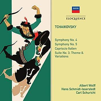 Tchaikovsky: Symphonies 4 & 5