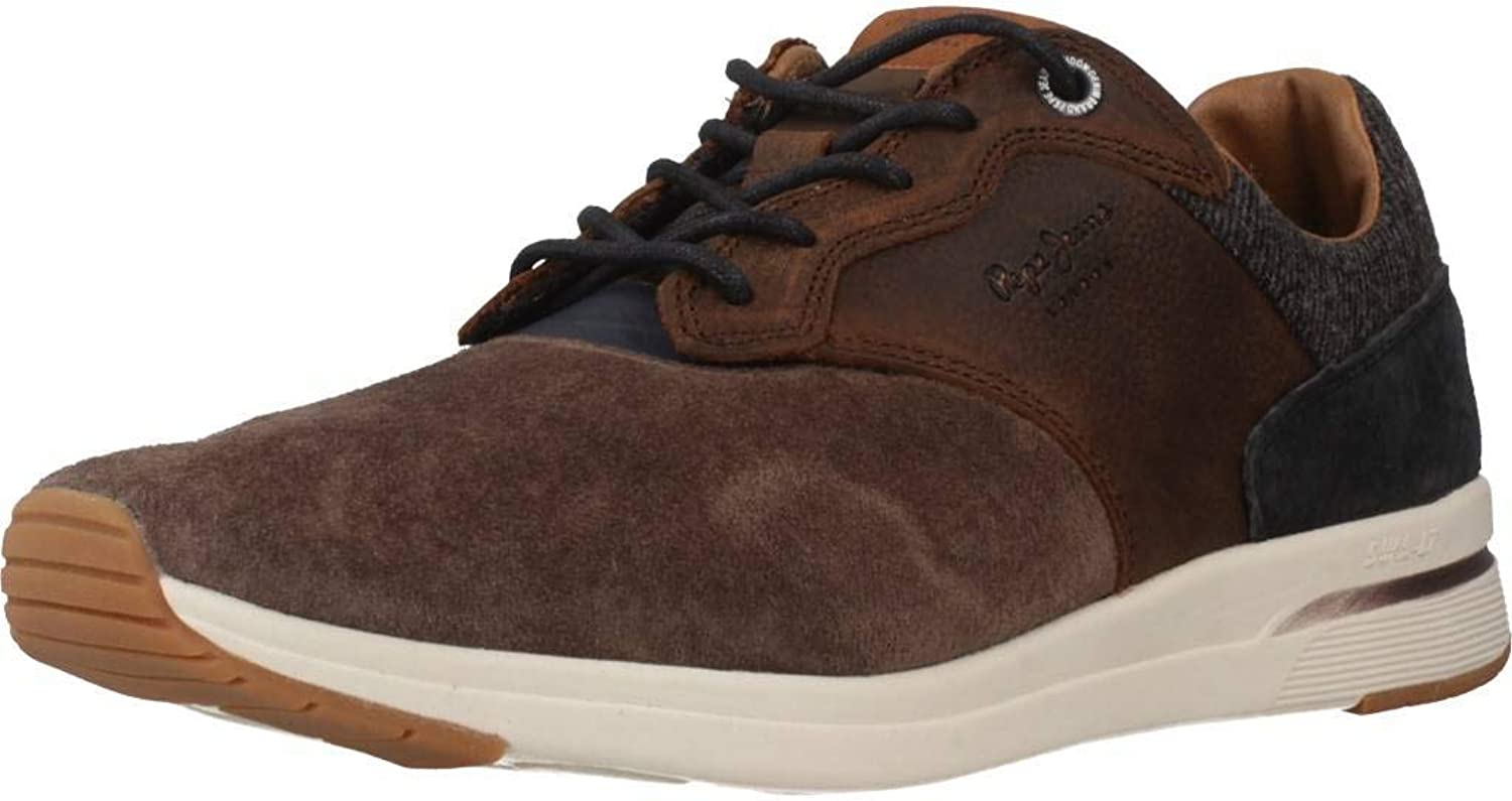 Pepe Jeans Men's shoes, Colour Brown, Brand, Model Men's shoes JAYKER Comb Brown