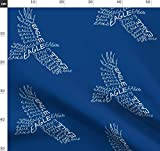 Adler, Figurengedicht, Tiere, Verspielt Stoffe -