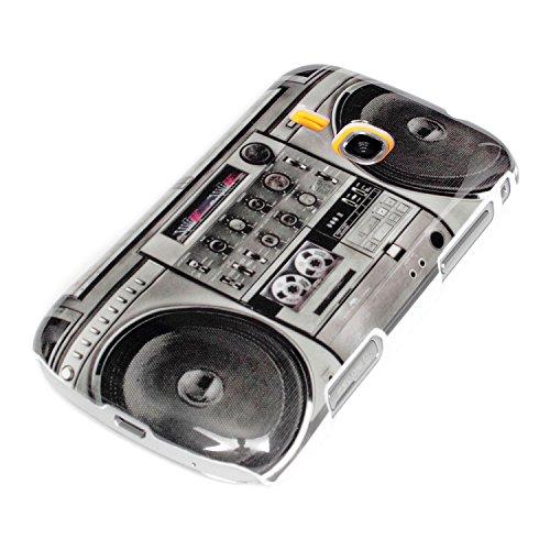 deinPhone Samsung Galaxy Mini 2 S6500 HARDCASE Hülle Case Ghettoblaster