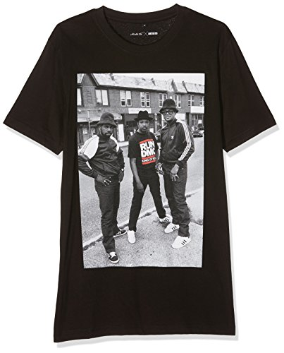 Mister Tee Herren Run Dmc Kings of Rock T-Shirts, Black, M