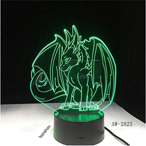 Jeu Famille Série 3D Lampe USB Bande Dessinée Veilleuse LED 7 Couleur Lampe de Table Enfants Populaire Nouveaux Cadeaux
