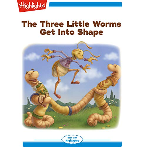 The Three Little Worms Get Into Shape copertina