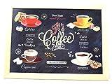 Puf cojín bandeja de regazo, diseño de el café de tiempo