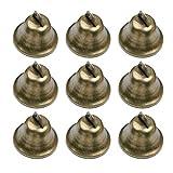 HEALLILY 15 Piezas de Cascabeles de Bronce Vintage de Cobre DIY Campanas...