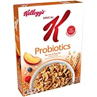 Kellogg's Special K Probiotics Breakfast Cereal (Berries and Peaches, 10.5oz box)