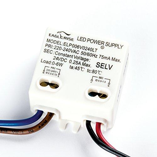 Eaglerise LED Driver ELP006V0240LT 24V 0-6W Treiber Trafo rund