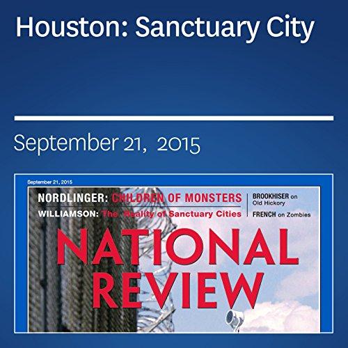 Houston: Sanctuary City audiobook cover art