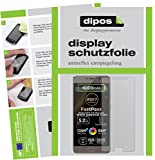 dipos I 2X Schutzfolie matt kompatibel mit Allview P9 Energy Lite 2017 Folie Bildschirmschutzfolie