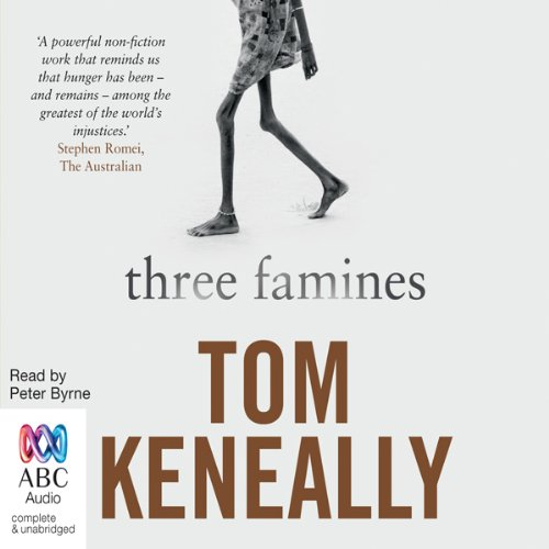 Three Famines audiobook cover art