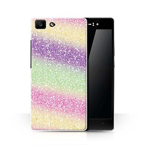 Hülle Für Oppo R5 Glitter Muster Effekt Einhorn Regenbogen Design Transparent Ultra Dünn Klar Hart Schutz Handyhülle Case