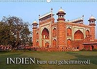 INDIEN - bunt und geheimnisvollCH-Version (Wandkalender 2022 DIN A3 quer): Indien, geheimnisvolle Tempel (Monatskalender, 14 Seiten )