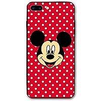 カスタムiPhone8Plusケース/ iPhone7Plusケースミッキーの笑顔プリントケースiPhone7 Plus / 8Plus用衝撃吸収カバーケース