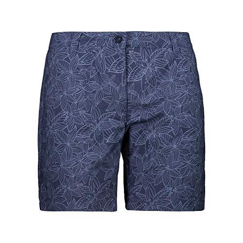 CMP Damen Shorts Dry Function Con Fantasia Floreale Badehose, blau, D40