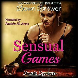 Sensual Games audiobook cover art