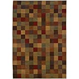 Oriental Weavers 3A Allure Area Rug, 9' 10' x 12' 9', Brown/Red