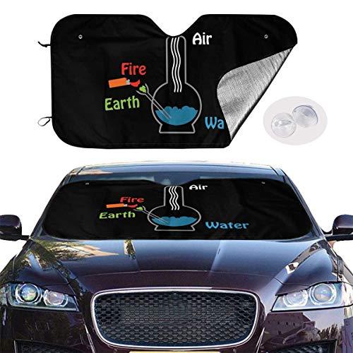 ghkfgkfgk Car Sun Shade UV Sun Heat Reflector Visor Protector Front Window Sunshade Cover-Psychedelic Mushroom Big Eyes