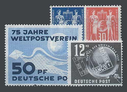 Goldhahn DDR Jahrgang 1949 postfrisch komplett Briefmarken für Sammler