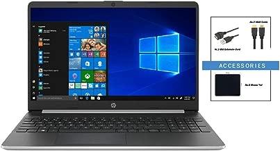 Newest HP 15.6 Inch HD Micro-Edge Touchscreen WLED Flagship Laptop w/ Accessories | Intel Core i5-8265U | 16GB DDR4 Memory | 512GB SSD | WiFi | Bluetooth | HDMI | Windows 10 | Silver