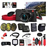 Leica D - LUX (Typ 109) Digital Camera Explorer Kit + 64GB Extreme Pro Card + Corel Photo Software + Extra Battery + LED Light + Card Reader + 3 Piece Filter Kit + Case and More - Deluxe Bundle
