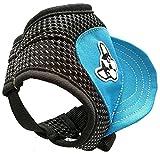 hgkl Gorra Perro Pet béisbol Gorra Transpirable Perro Plano Top Sombrero Sol Sombrero Deportes al Aire Libre Mejor Precio (Color : Cowboy Blue, Size : M)