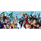 XLST Dragon Ball Z Puzzle De Madera 1000 Piezas Puzzle De Dragon Ball, Puzzle Desafiante para Niños Y Adultos,Juegos De Rompecabezas para La Damilia,Juguetes Educativos(50X75cm,3