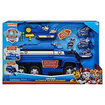 Bizak- Mega Camion Chase 5 en 1 Patrulla Canina Juguete (61927702) de Bizak
