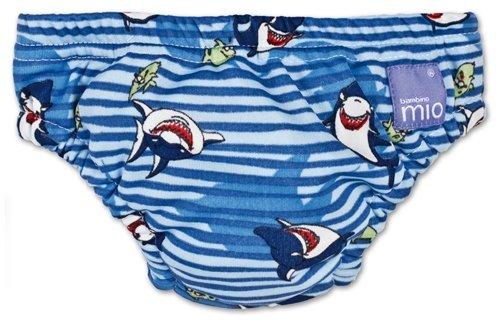 Bambinomio zwemluier Small - blauw met haai