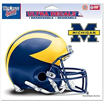 Wincraft NCAA Official University of Michigan Wolverines 3x10 Perfect Cut Decal