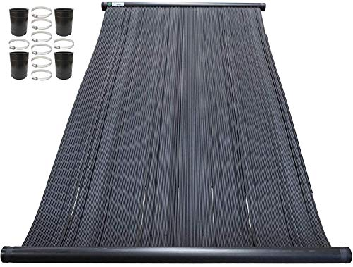 "SOLARPOOLSUPPLY Highest Performing Design - Universal Solar Pool Heater Panel Replacement & Connection Hardware Pack (4' X 10' / 1.5"" I.D. Header)"