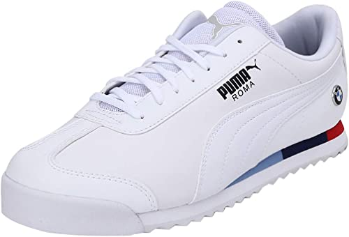 PUMA Basket BMW MMS Roma pour Homme Puma White-Puma White 6 ...