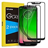 SPARIN [2 Pack Screen Protector Compatible for Moto G7