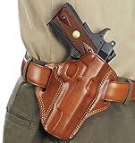 Galco Combat Master Belt Holster, Colt 1911 5' Tan, Left Hand - CM213
