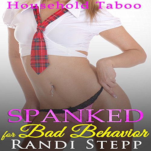 Spanked for Bad Behavior audiobook cover art