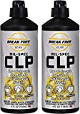 Break-Free CLP-4 Cleaner Lubricant Preservative Squeeze Bottle (4 -Fluid Ounce) (4-Fluid Ounce 2 Pack)