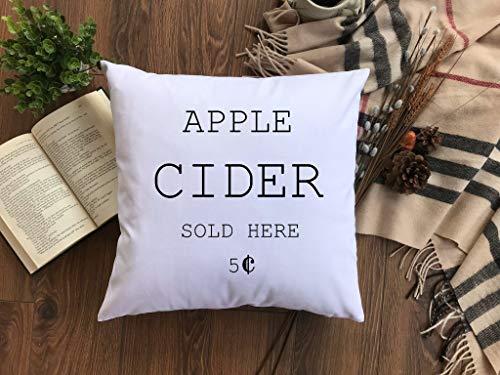 Ad4ssdu4 appelwijn kussensloop herfstkussen herfstkussen pompoen kussen Hay Rides kussen Thanksgiving kussen appel wijnkussen