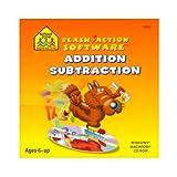 SCHOOL ZONE Flash Action -- Addition/Subtraction (Windows/Macintosh)