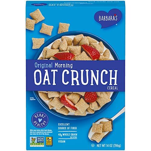 Three Sisters Barbara#039s Morning Oat Crunch Original Cereal Heart Healthy NonGMO 14 Oz Box