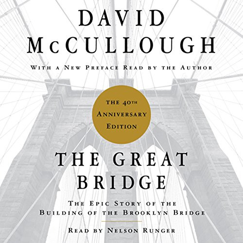 The Great Bridge audiobook cover art