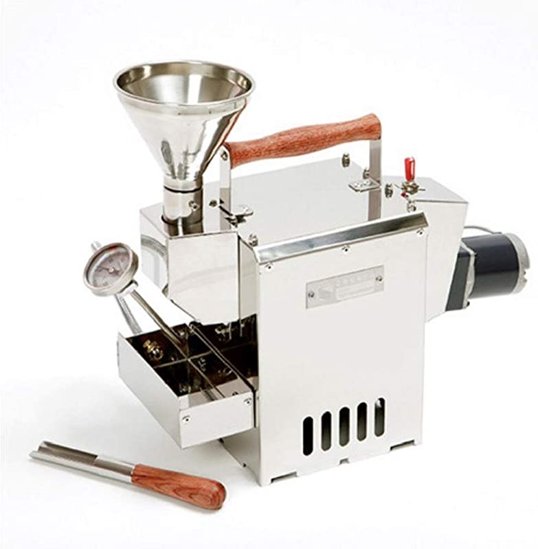 KALDI Home Coffee Roaster Motorize Type Full Package Including Thermometer Hopper Probe Rod Chaff Holder Gas Burner Required